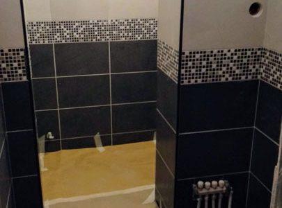 Ανακαίνιση μπάνιου με επέκταση στην Αθήνα από την AGS-Engineering