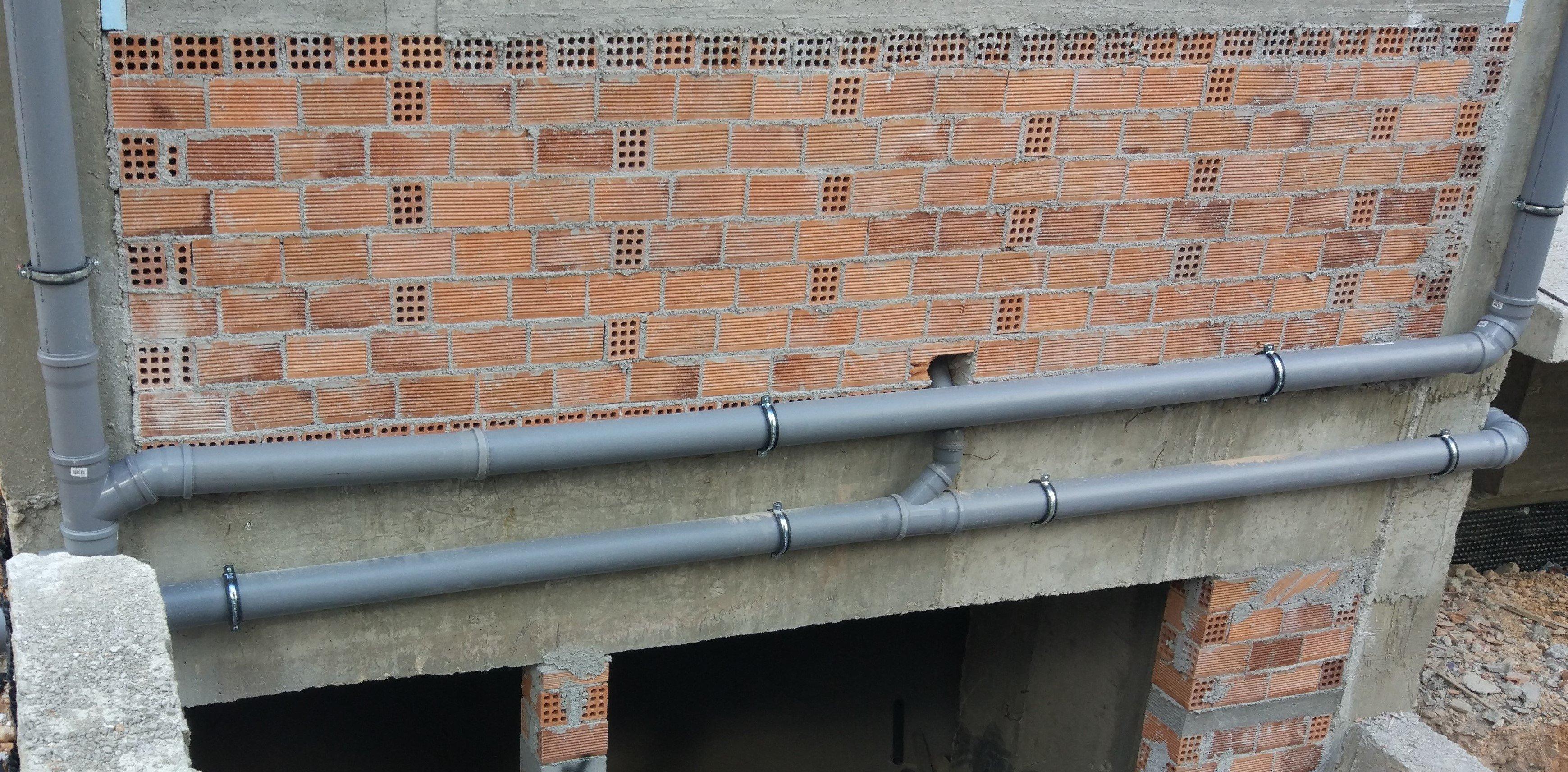 Υδραυλική εγκατάσταση σε νεόδμητη πολυτελή μεζονέτα
